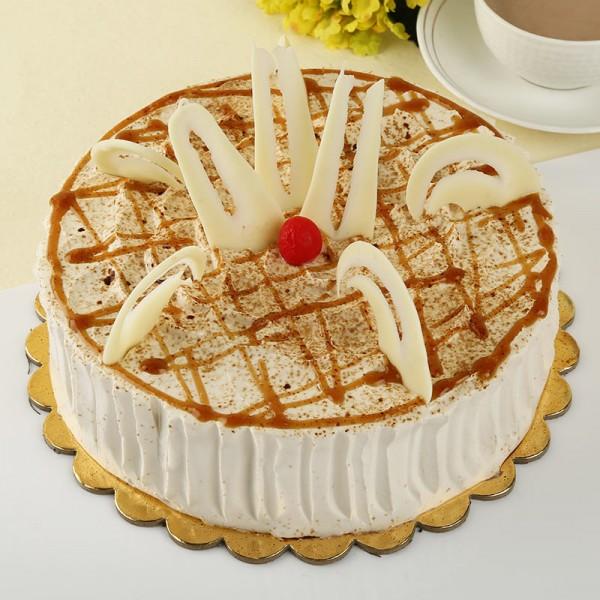 Half Kg Designer Coffee Cake