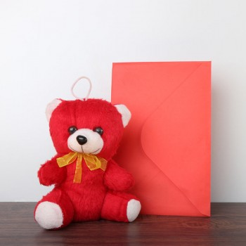6 inches Teddy Bear with Greeting Card