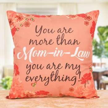 Printed Special Mother-In-Law Cushion