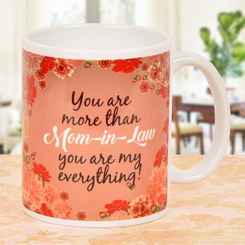 Printed Coffee Mug for Mother in Law
