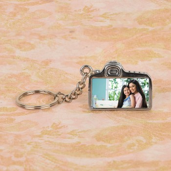 Personalised Camera Key Chain