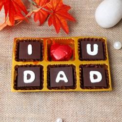 I Love U Dad Chocolates