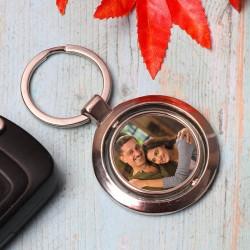 Personalised Metallic Keychain