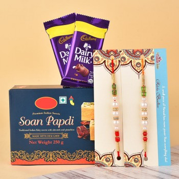 Captivating Rakhi Hamper