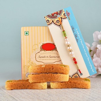 Pearl Rakhi N Milk Cake