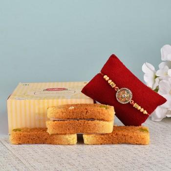 Rakhi N Milk Cake
