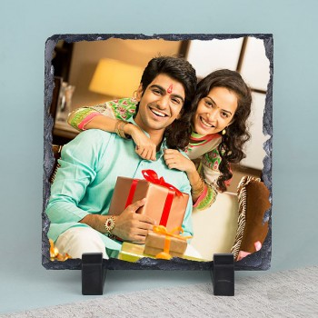 Personalised Photo Stone for Rakhi
