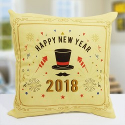 Bursting New Year Cushion