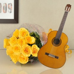 Melodic Yellow Roses