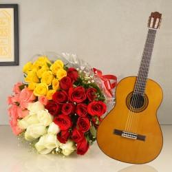 Mixed-Mellow Roses