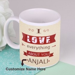 Everything About You Mug