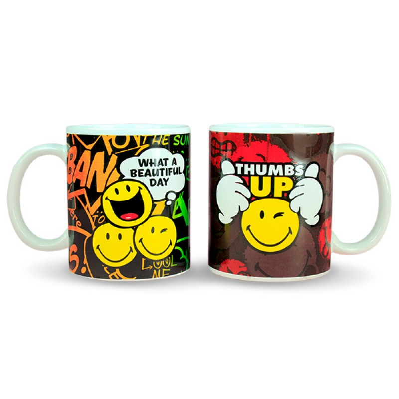 Smiley Mug Set