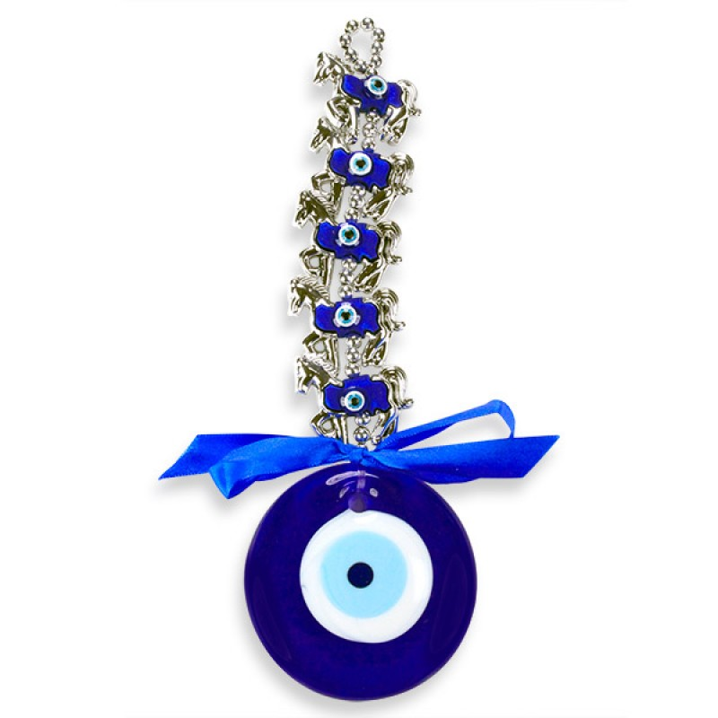 Horses Evil Eye Wall Hanging