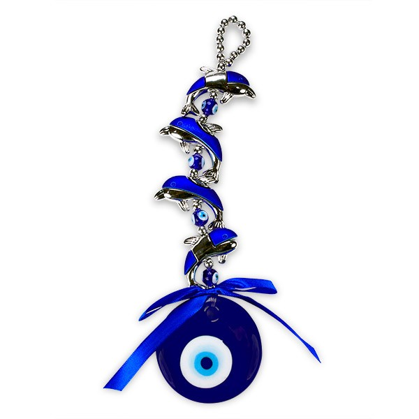 Dolphins Evil Eye Wall Hanging