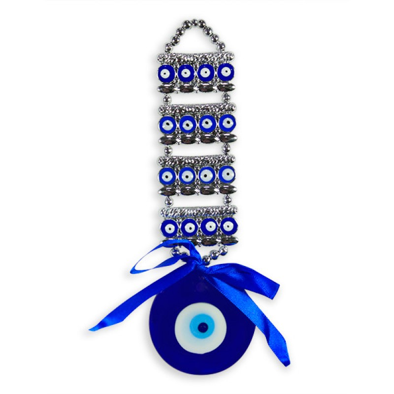 Blue Evil Eye Wall Hanging