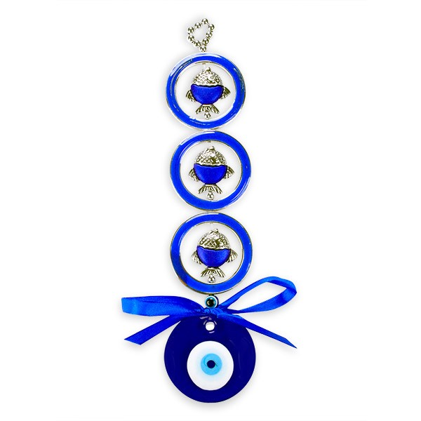 Fishes Evil Eye Wall Hanging