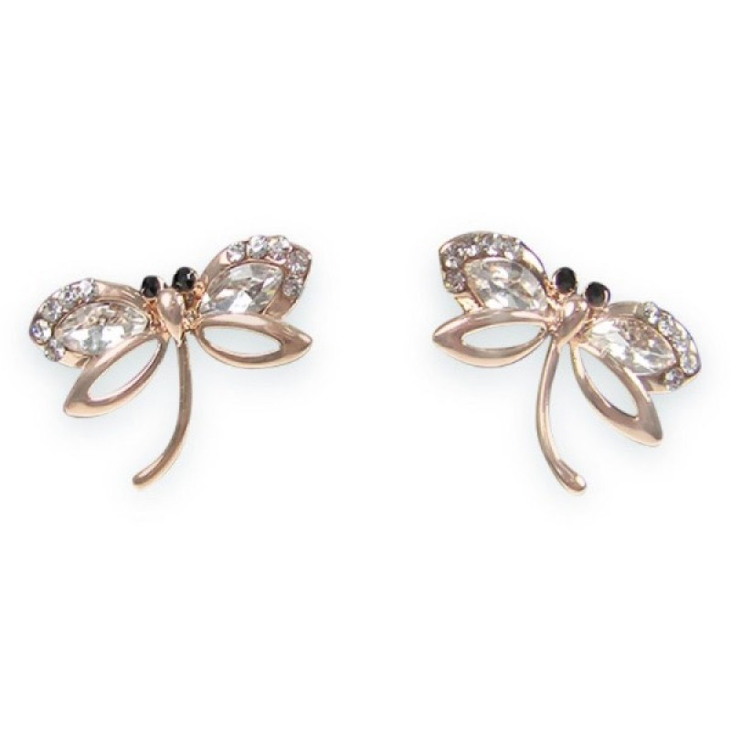 Classy Butterfly Stud Earrings