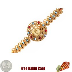 Diviniti 24 Ct. Gold Bal Krishna Rakhi