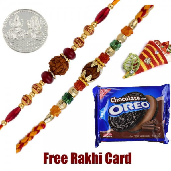 Oreo Cookies Rakhi Treat