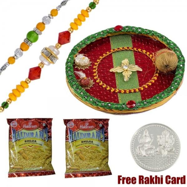 Glittering Rakhi Treat