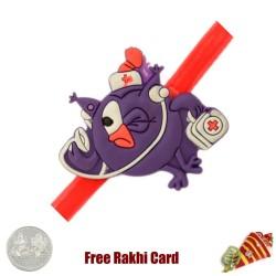 Smashing Kids Rakhi with a Free Silver Coin