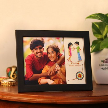 Photo Frame for Brother And Sister on Rakhi