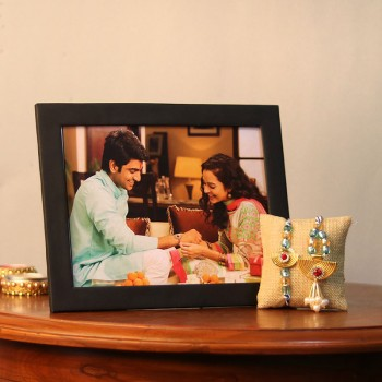 Online Rakhi With Photo Frames