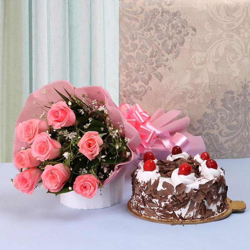Cake N Roses for Mom