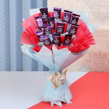 Bouquet of Chocolates is a dream come true moment
