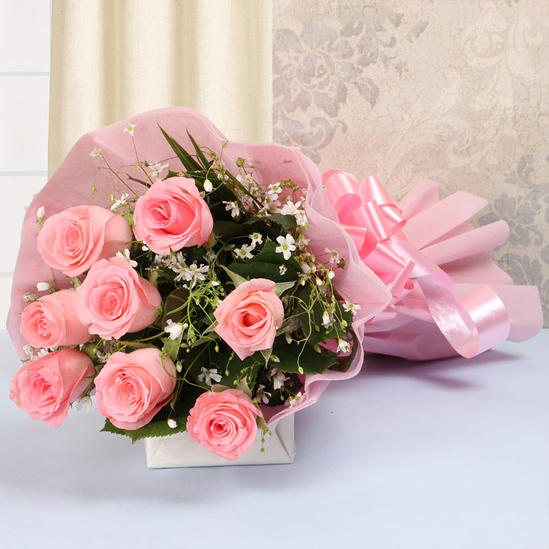 Wedding Gift Flowers: Pink Beauty Bouquet