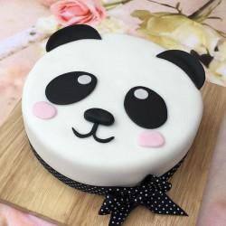 1 Kg Kungfu Panda Designer Chocolate Fondant Cake