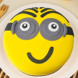Chocolaty Minion Cake For Kids
