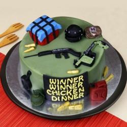PUBG Battlefield Cake