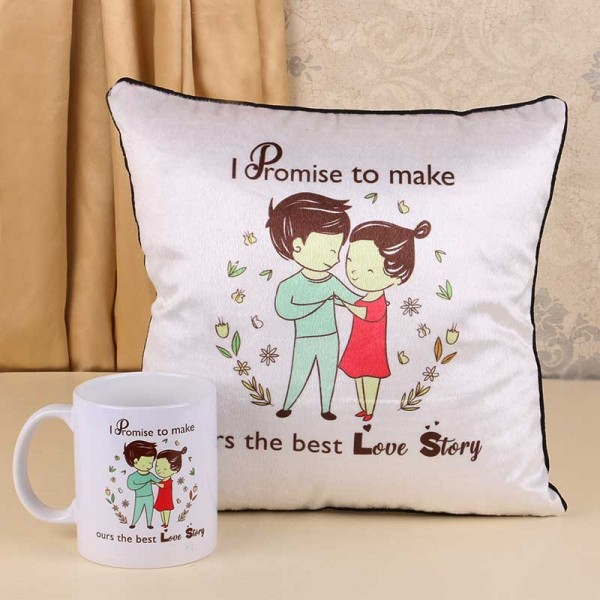 Promise Day Mug and Cushion