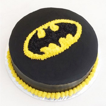 Half Kg Batman Theme Chocolate Cream Cake
