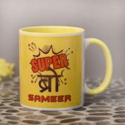 Personalised Super Brother Mug