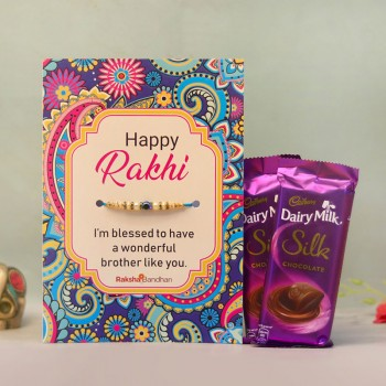 Blessed Raksha Bandhan Card