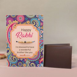 Blessed Raki Card with a Wallet