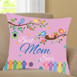 Chirpy Mom Cushion