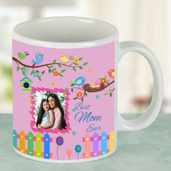 Personalised White Coffee Mug for Mother