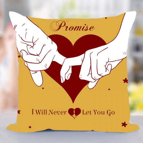 Promise Day Printed Cushion