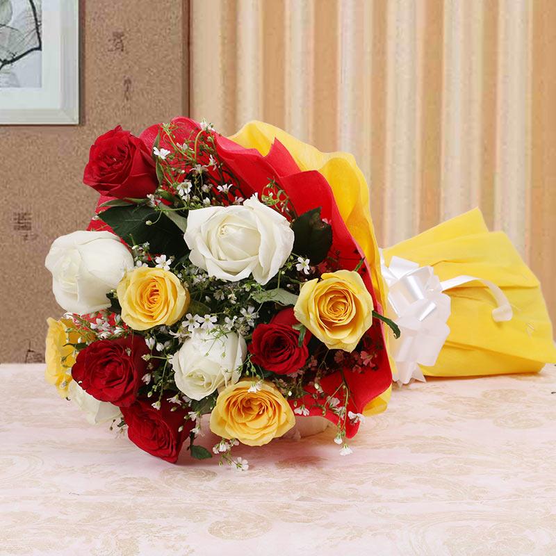 10 Assorted Roses