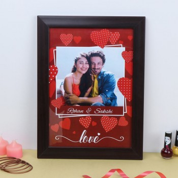 A4 Size Personalised Photo Frame