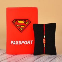 Rakhi N Superman Passport Holder