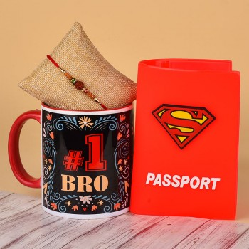 Online Rakhi With Mugs Delivery