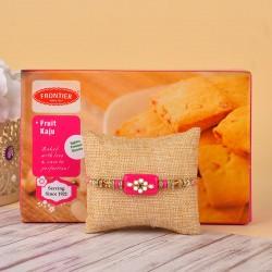 Designer Rakhi N Frontier Cookies
