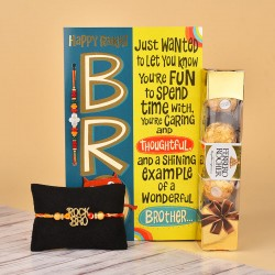 Sweet Rakhi Celebration Hamper