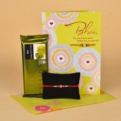 Divine Rakhi Celebration Gift
