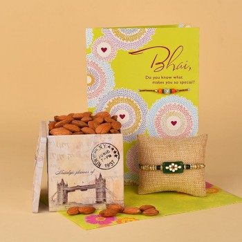 Pleasurable Rakhi Hamper