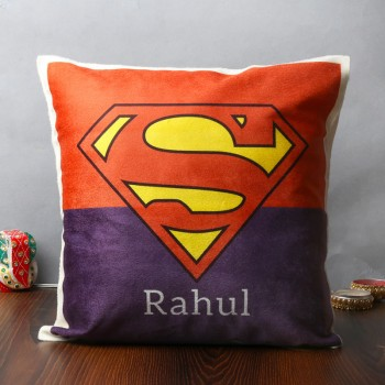 Personalised Superman Cushion